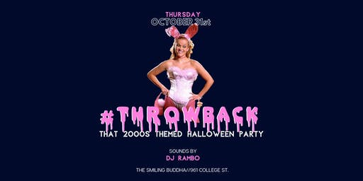 #THROWBACK - That 2000s Themed Halloween Party