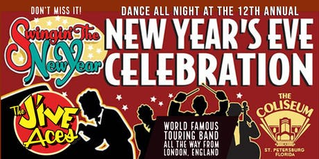 New Year's Eve Celebration at the Spectacular Coliseum - VIP Front of House tickets