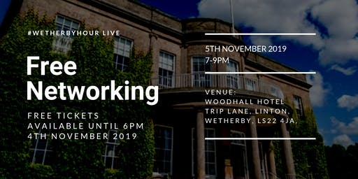 Wetherbyhour LIVE at Wood Hall Hotel & Spa