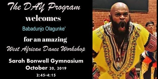 The DAY Program  welcomes Babadunjo Olagunke'