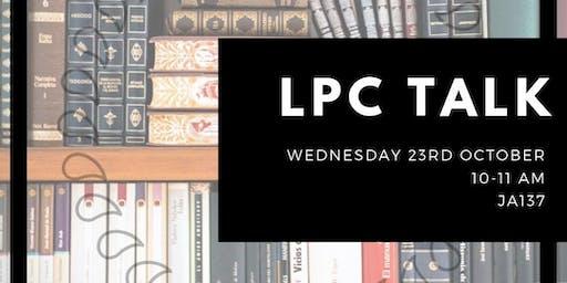 LPC TALK (SECOND & THIRD YEAR LAW)