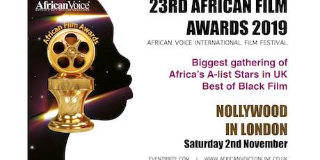 African Film Awards 2019 (23rd AFA) tickets
