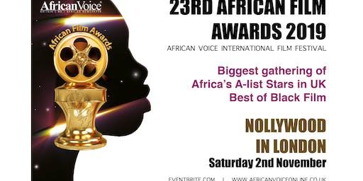 African Film Awards 2019 (23rd AFA)