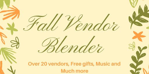 Fall Vendor Blender