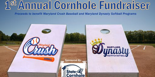 Cornhole Fundraiser to benefit MD Crush Baseball and MD Dynasty Softball
