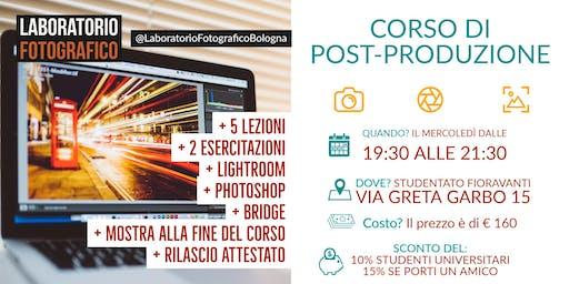 Corso di post-produzione fotografia digitale