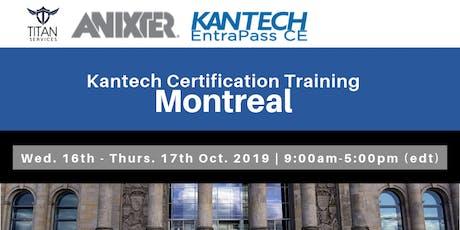 Formation Entrapass Corporate à Montréal - Anixter billets