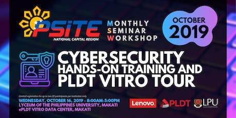 Cybersecurity Hands-On Training and PLDT Vitro Tour tickets