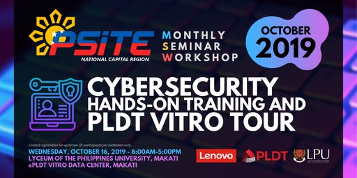 Cybersecurity Hands-On Training and PLDT Vitro Tour