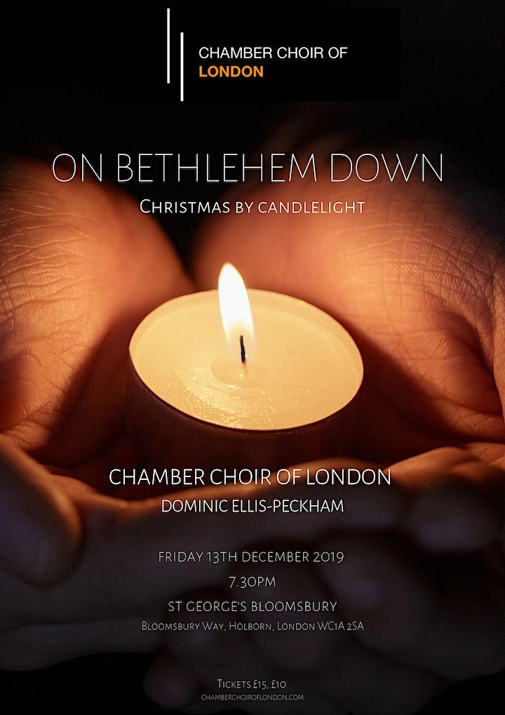 On Bethlehem Down - Chamber Choir of London, Dominic Ellis-Peckham image