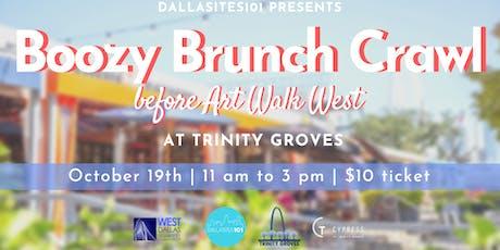 Boozy Brunch Crawl at Trinity Groves tickets