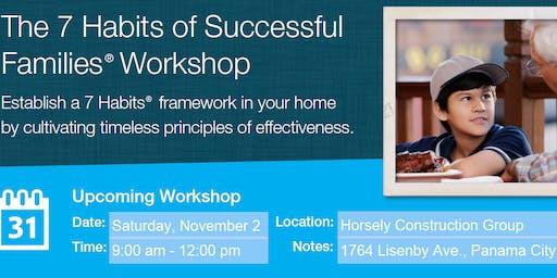 7 Habits of Successful Families Workshop