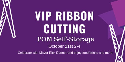 POM's VIP Ribbon Cutting