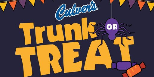 Culver's Trunk Or Treat Kid's Night