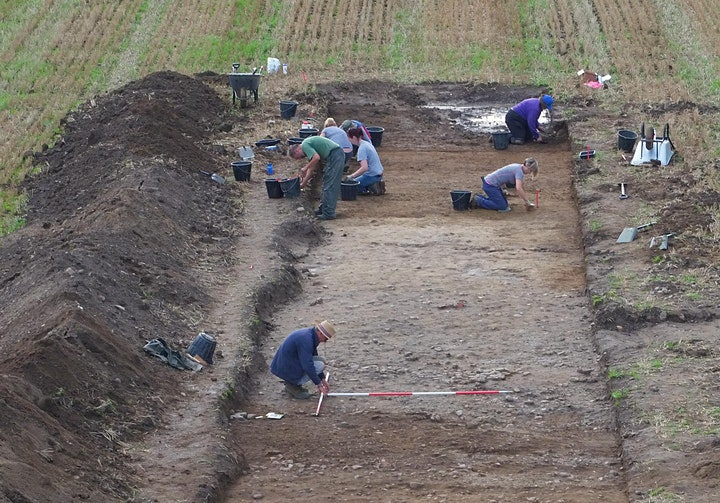 OPEN DAY - Experience Archaeology! Roman Road Excavation, N Yorkshire image