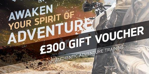 £300 Adventure Experience Gift Voucher