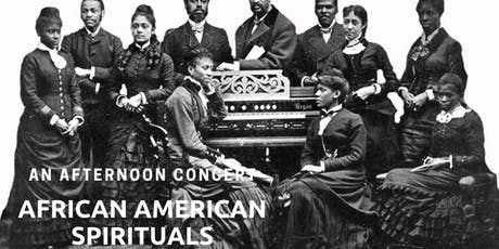Concert: Highlights African American Spiritual in 60 Minutes tickets