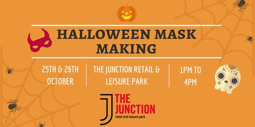 Halloween Mask Making at The Junction