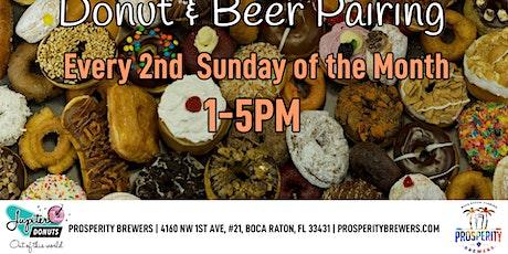 Donut & Beer Pairing tickets
