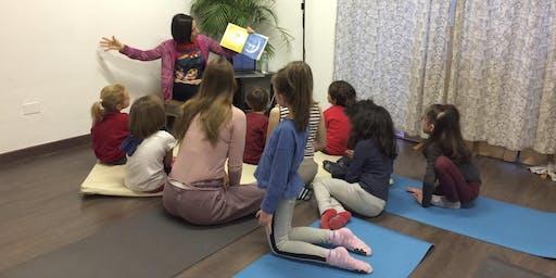 Michela Macchi  - Yoga Story time! @Aura Festival