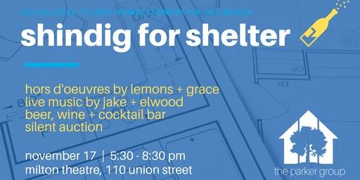 Shindig for Shelter