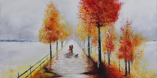 A WALK IN AUTUMN at dot-art Gallery: Private View