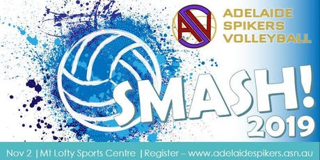 Adelaide Spikers Volleyball SMASH 2019 tickets