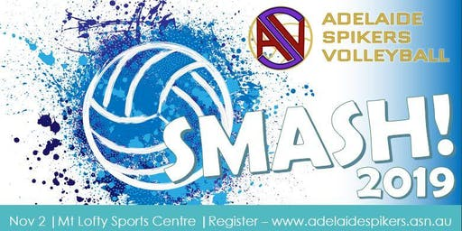 Adelaide Spikers Volleyball SMASH 2019
