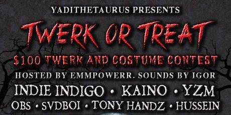 Twerk Or Treat tickets