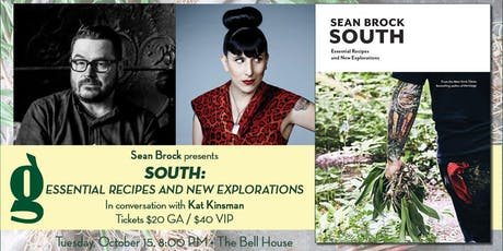 Sean Brock presents South: Essential Recipes and New Explorations tickets