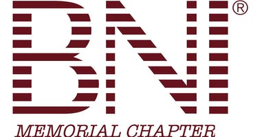 BNI Memorial | 11/20@7AM| Speaker Eddy Loupeda