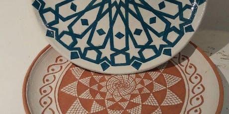 Corso di ceramica - tecniche di Engobbio biglietti