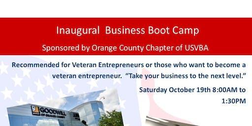 USVBA Orange County Chapter - Business Boot Camp
