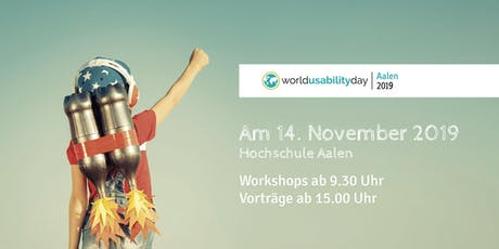World Usability Day Aalen Tickets