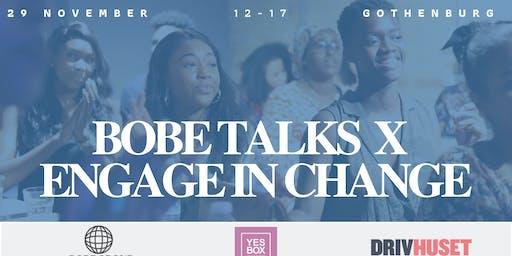 BOBE TALKS