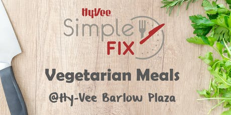 Simple Fix Meal Prep TO GO: Vegetarian Meals tickets