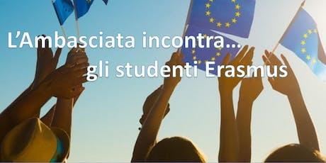 L'Ambasciata incontra…  gli studenti Erasmus a Berlino Tickets