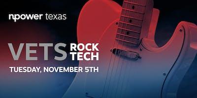 Vets Rock Tech Benefiting NPower Texas