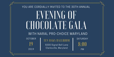 30th Annual Evening of Chocolate Gala tickets