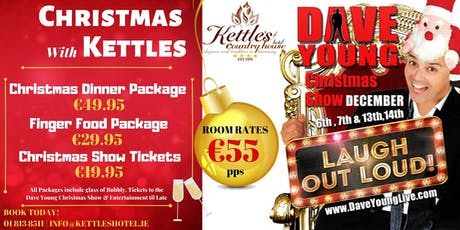 Dave Young Christmas Show tickets