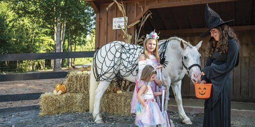 Halloween Hay Ride and Trick or Treat for Kids