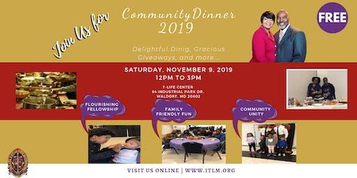 Community Dinner 2019