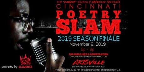 Cincinnati Poetry Slam - 2019 Season Finale tickets