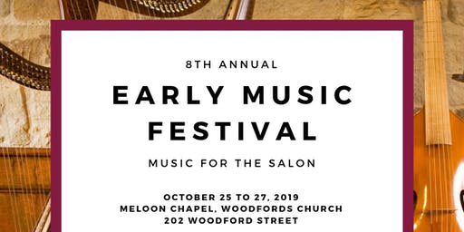 8th Annual Early Music Festival