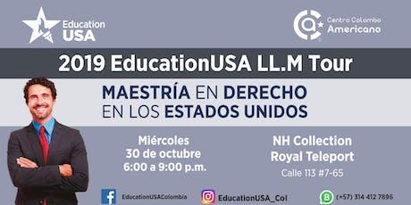 Feria de Posgrados en Derecho - EducationUSA LL.M. Tour - Bogotá entradas
