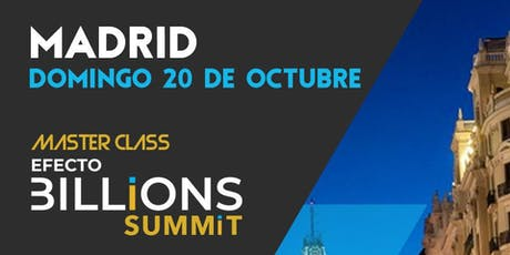 Efecto Billions Summit tickets