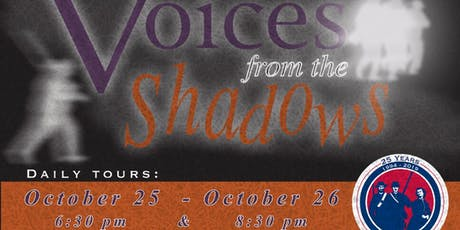 Voices From the Shadows tickets