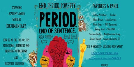 End Period Poverty tickets