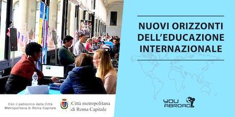 Nuovi orizzonti dell'educazione internazionale - Roma 20/10/2019 biglietti