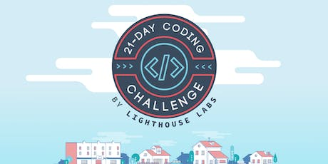 21-Day Coding Challenge Prep Workshop presented by Lighthouse Labs tickets
